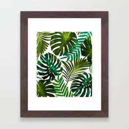 Tropical Dream || Framed Art Print