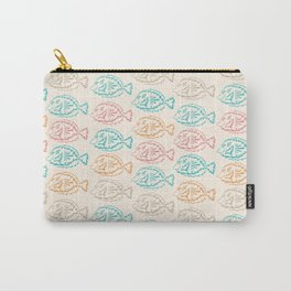 Pastel Marine Pattern 03 Carry-All Pouch