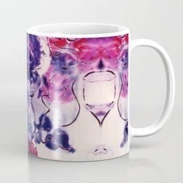 Wine & Flowers Photographic Pattern #2 Coffee Mug