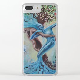 Land and Sea Clear iPhone Case