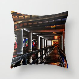 Under Piccadilly Throw Pillow
