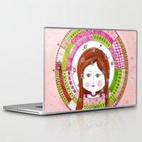 virgo Laptop & iPad Skins featuring Virgo by Sandra Nascimento