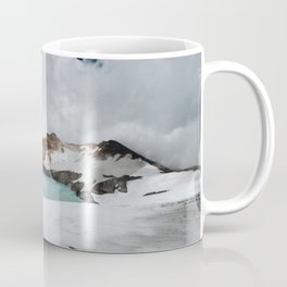 New Zealand Mount Ruapehu Volcano Coffee Mug