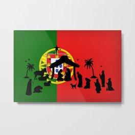 Portuguese Natal Metal Print