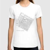 chelsea T-shirts featuring Chelsea by DRAW NORTH