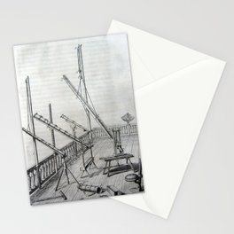 Johannes Hevelius - Celestial Devices, Part 1 - Plate 5 Stationery Cards
