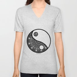 Yin & Yang Unisex V-Neck