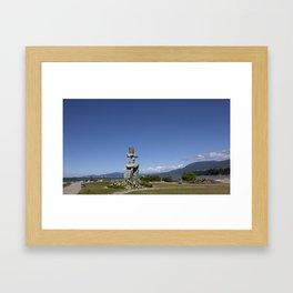 inukshuk Framed Art Print