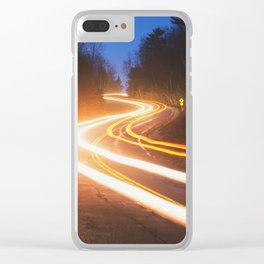 Rush Hour Clear iPhone Case