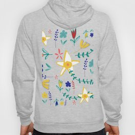 Floral The Tortoise and the Hare is one of Aesop Fables beige Hoody