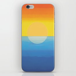 Sunset - Every Time We Say Goodbye iPhone Skin