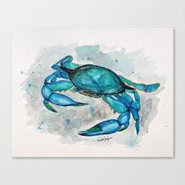 Blue Crab #2 Canvas Print