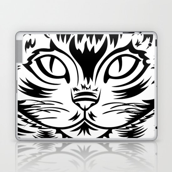 Coffee Cat Laptop & iPad Skin