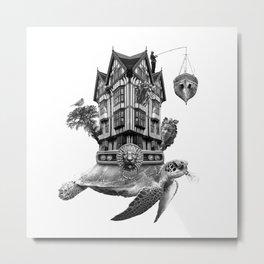 Pippi Longstockings Secret Second Home Metal Print