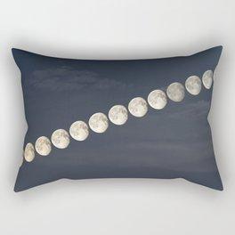 Waning Gibbous Rectangular Pillow