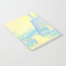 "Paul Signac ""Evening (The Jetty of Vlissingen) (Abend-La jetée de Flessingue)"" from the journal Pan Notebook"