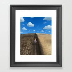Sow and Reap Framed Art Print