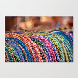 Concept Kaltblutmarkt 2018 : Ropes Canvas Print
