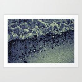 wetrocks Art Print