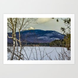Chocorua, New Hampshire Art Print