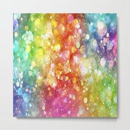 Rainbow of Lights Metal Print