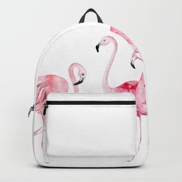 Flamingo Farm- Tropical Animal Bird World Backpack