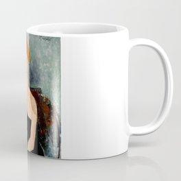 "Amedeo Modigliani ""Redheaded Girl in Evening Dress"" Coffee Mug"