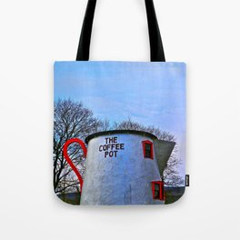 The Coffee Pot Tote Bag