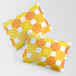 50 Squares of YELLOW - Living Hell Pillow Sham