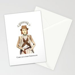 Getrudis from Like Water for Chocolate Stationery Cards