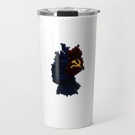 Cold War Veteran 1947 1991 Cool Distressed American Holiday Cool Gift Humor Pun Design Travel Mug