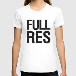 FULL RES  T-shirt