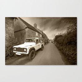 Dorset Defender  Canvas Print