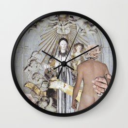 Reverence Wall Clock