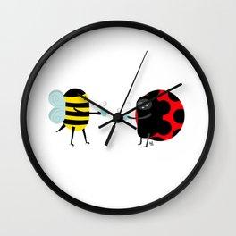 Bee-Time Tea-Time Wall Clock