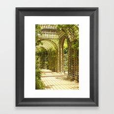 Gardens of Versailles Framed Art Print