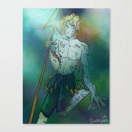Sanji Fantasy Print Canvas Print