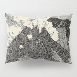 Naturalist Volcano Pillow Sham