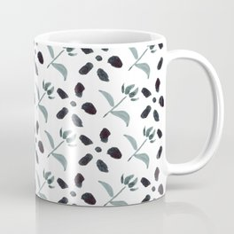 Little Frowers ( Pattern Paynes Grey) Coffee Mug
