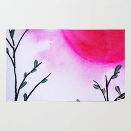 Pink Moon Rug