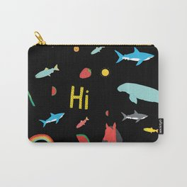 All Together Black Carry-All Pouch