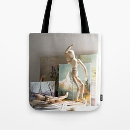 Early Morning in the Studio Tote Bag
