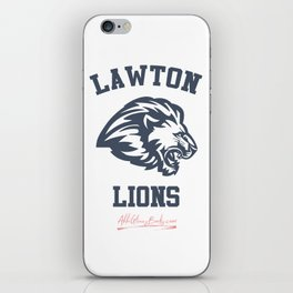 The Field Party - Lawton Lions iPhone Skin