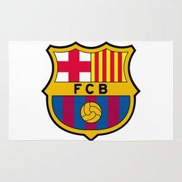 FCB futbol club barcelona Rug