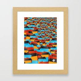 O Morro I Framed Art Print