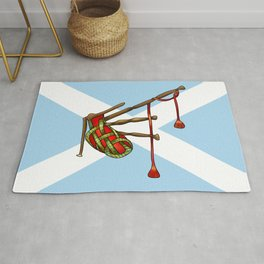 bagpipe-knot Rug