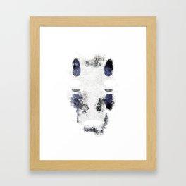 No-Face (Kaonashi) Framed Art Print