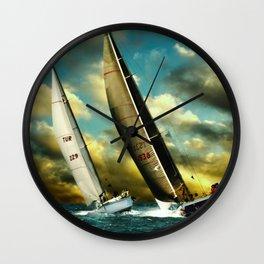 sailrace Wall Clock