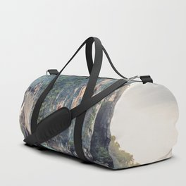 Boat in the sea Duffle Bag