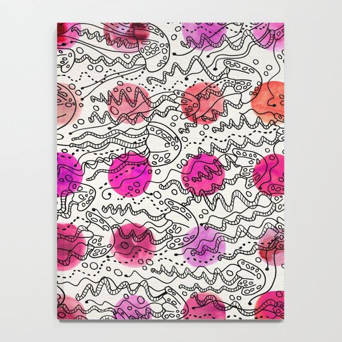 Dotty Jellyfish Notebook